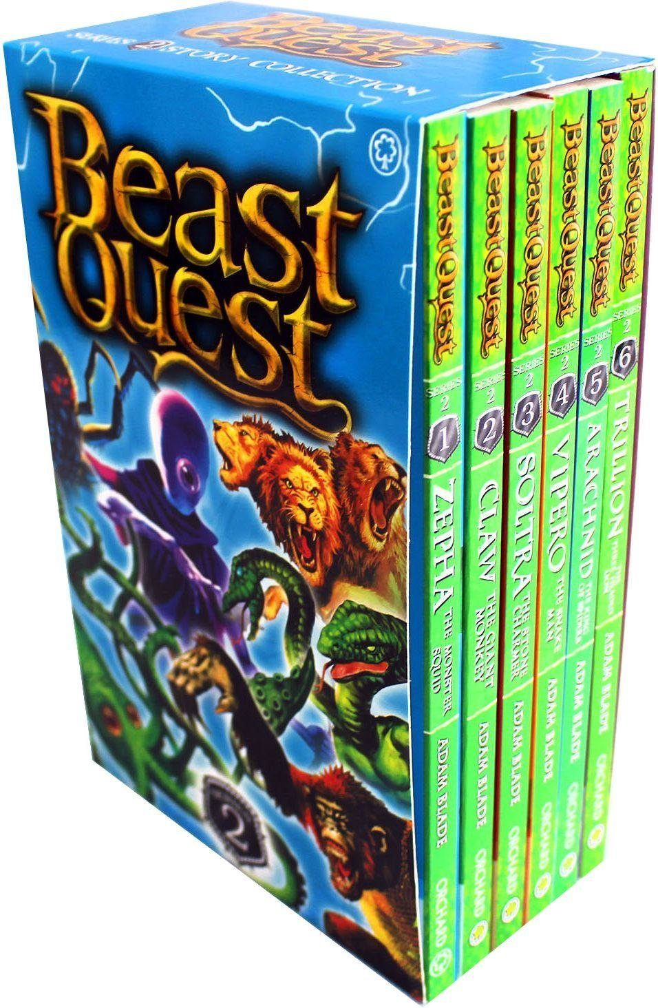 beast quest series 2  6 books  ages 79  paperback