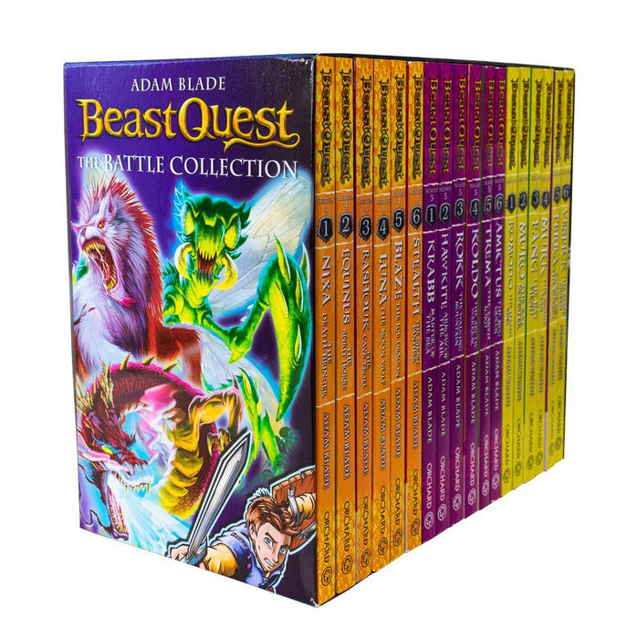 Beast Quest Series 4, 5 and 6 Collection 18 Books Set - Ages 7-9 - Paperback - Adam Blade - Books2Door