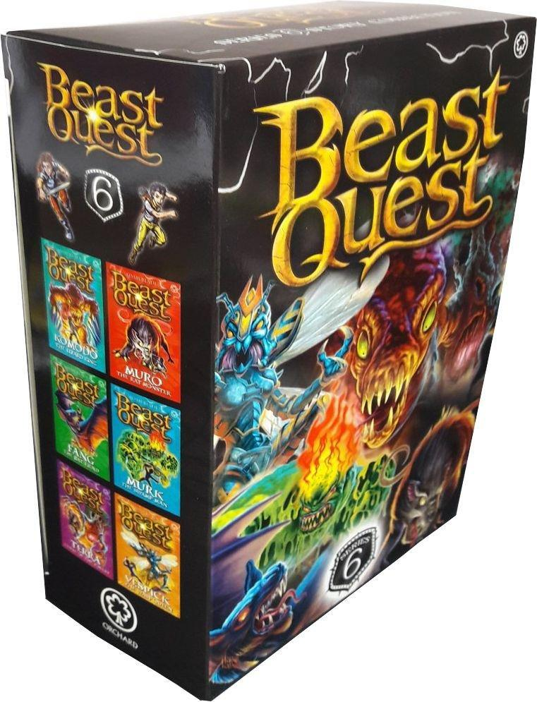 beast quest series 6  6 book collection  ages 79