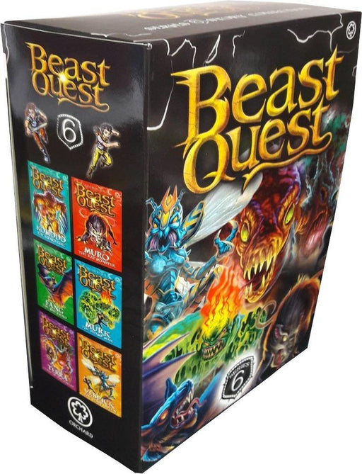 Beast Quest Series 6 - 6 Book Collection - Ages 7-9 - Paperback - Adam Blade - Books2Door