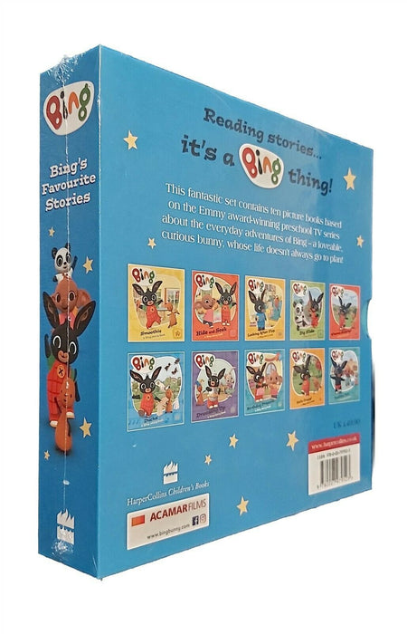 7-9 - Bing Bunny 10 Books Favourite Stories Box Set - Ages 7-9 - Paperback By Ted Dewan