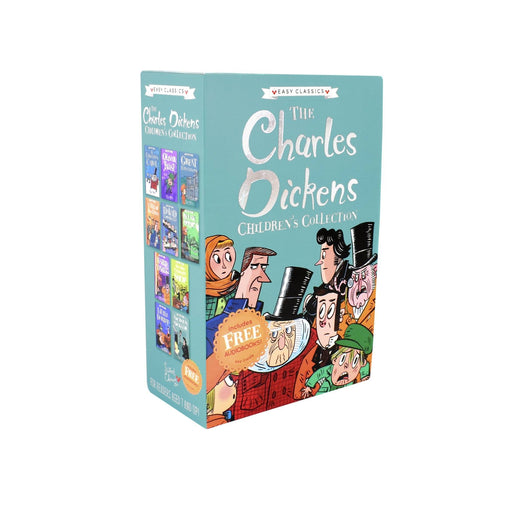 Charles Dickens Easy Classics 10 Books Collection -Ages 7-9 - Paperback By Pipi Sposito 7-9 Sweet Cherry Publishing