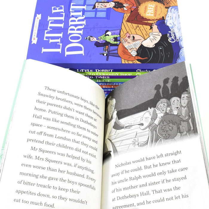 7-9 - Charles Dickens Easy Classics 10 Books Collection -Ages 7-9 - Paperback By Pipi Sposito