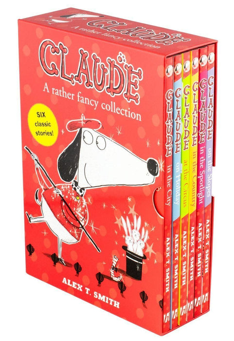 Claude 6 Books Collection - Ages 7-9 - Paperback - Alex T.Smith - Books2Door