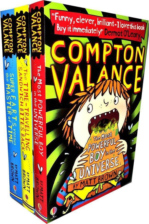 Compton Valance 3 Books Collection 7-9 Usborne