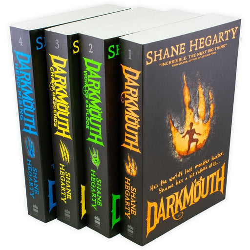 Darkmouth 4 Book Collection - Ages 7-9 - Paperback - Shane Hegarty - Books2Door