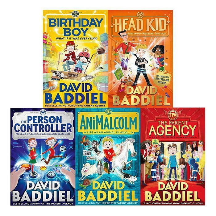 David Baddiel 5 Books Children Collection Paperback Set - Books2Door