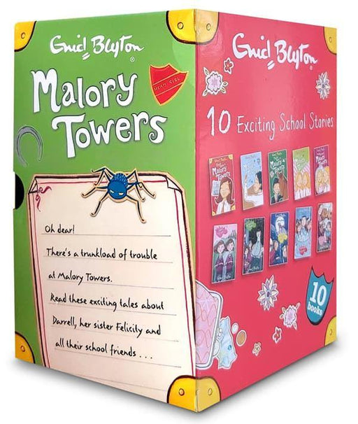 7-9 - Enid Blyton Malory Towers And St Clares 10 Books Box - Age 7-9 Paperback