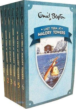 Enid Blyton Malory Towers Collection 6 Books Box Set - Books2Door