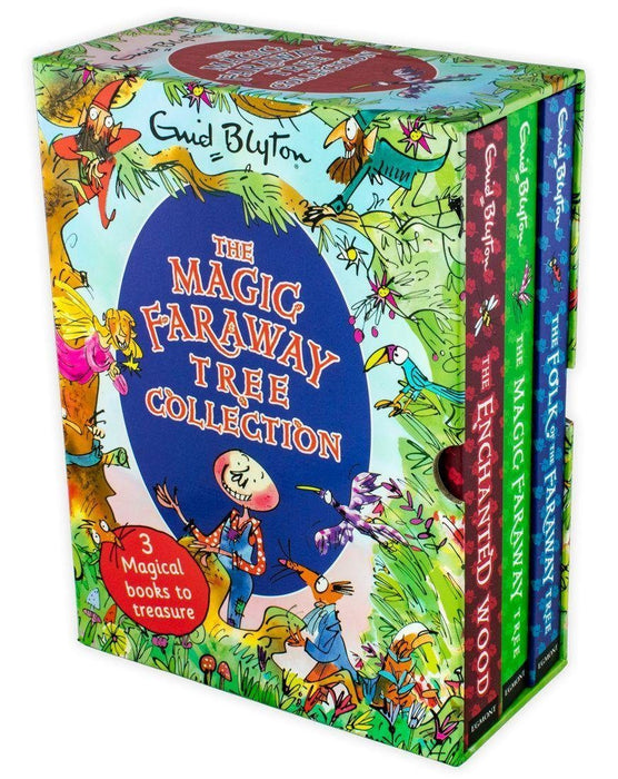 Enid Blyton The Magic Faraway Tree 3 Books Box Set - Fantasy Fiction - Hardback - Enid Blyton - Books2Door