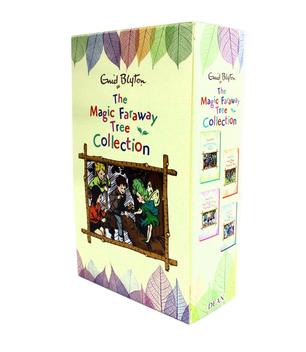 Enid Blyton The Magic Faraway Tree Collection 4 Books Box Set - Fantasy Fiction - Paperback - Books2Door