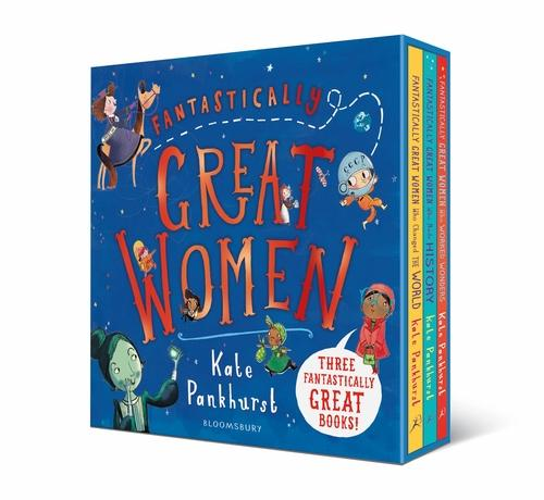 7-9 - Fantastically Great Women 3 Book Collection - Ages 7-9 - Hardback - Kate Pankhurst