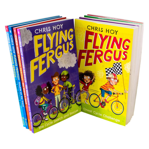 Flying Fergus 8 Book Collection - Ages 7-9 - Paperback - Sir Chris Hoy - Books2Door
