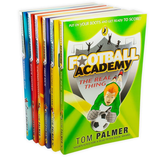 Football Academy 6 Book Collection - Ages 7-9 - Paperback - Tom Palmer 7-9 Puffin