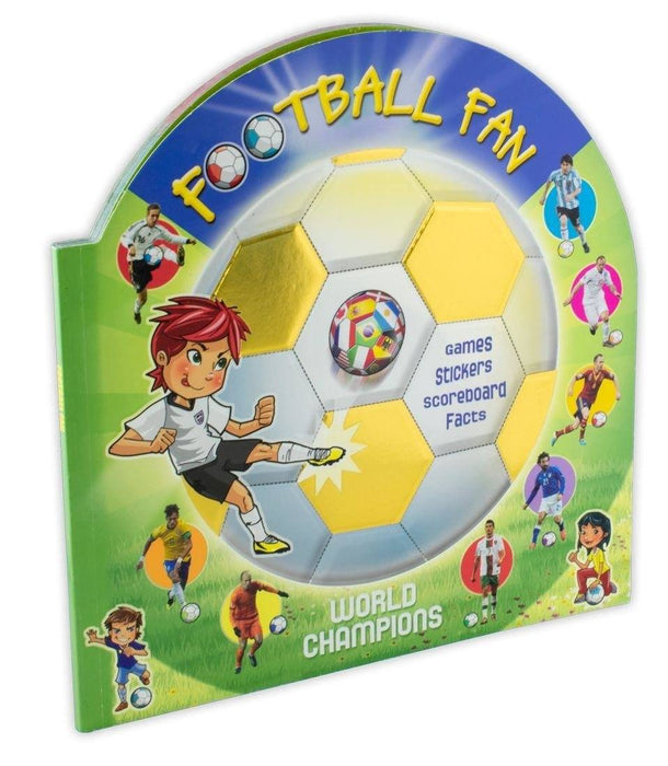 Football Fan World Champions - Ages 7-9 - Paperback - Sweet Cherry Publishing - Books2Door
