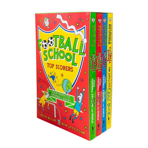 Football School Season Series Top Scorers 4 Books Collection Box Set - Ages 7-9 - Paperback - Alex Bellos & Ben Lyttleton - Books2Door