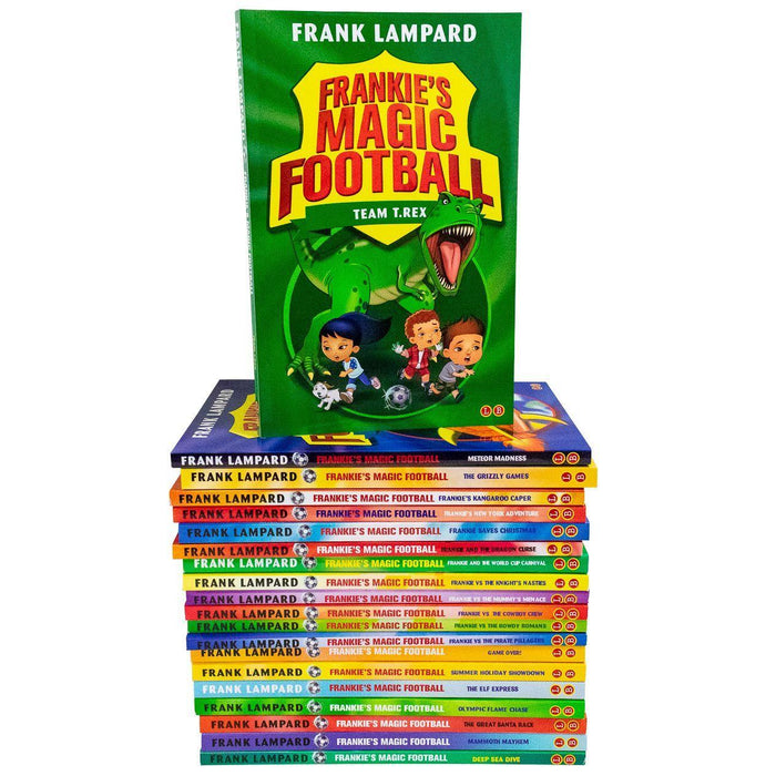 Frankies Magic Football Top Of The League 20 Books Box Set - Ages 7-9 - Paperback - Frank Lampard - Books2Door