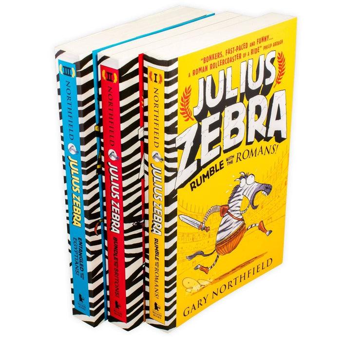 Gary Northfield Julius Zebra 3 Book Collection - Books2Door