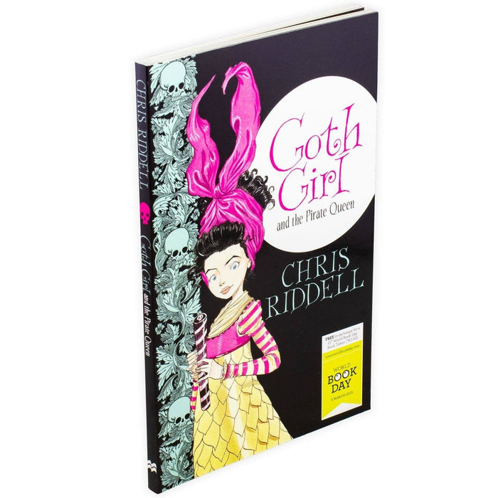 Goth Girl and the Pirate Queen - WBD 2015 - Paperback - Chris Riddell - Books2Door