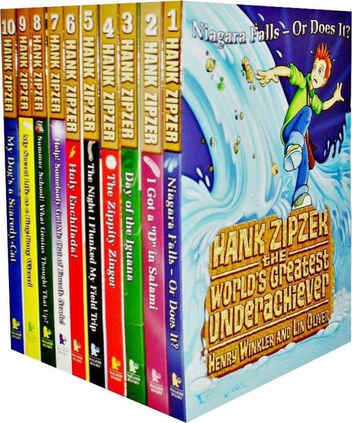 Hank Zipzer Collection 10 Books Collection - Ages 7-9 - Paperback - Books2Door