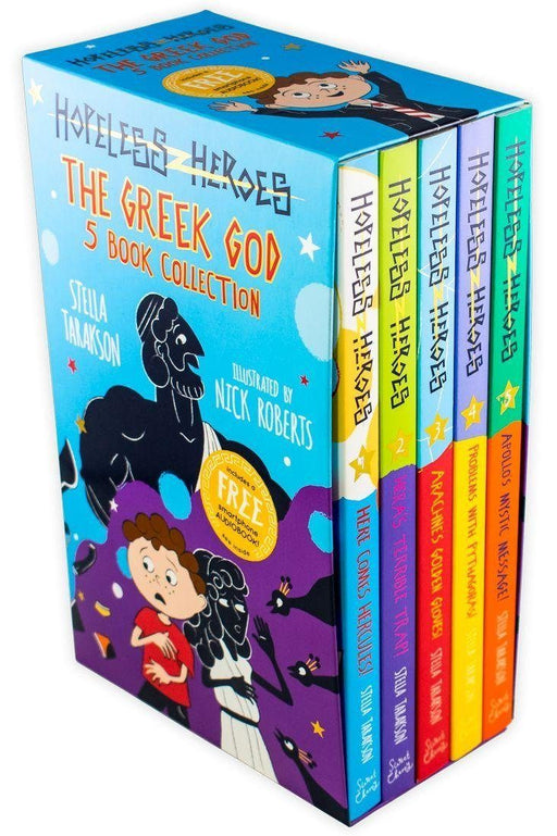 Hopeless Heroes: The Greek God 5 Book Collection - Ages 7-9 - Paperback - Stella Tarakson - Books2Door