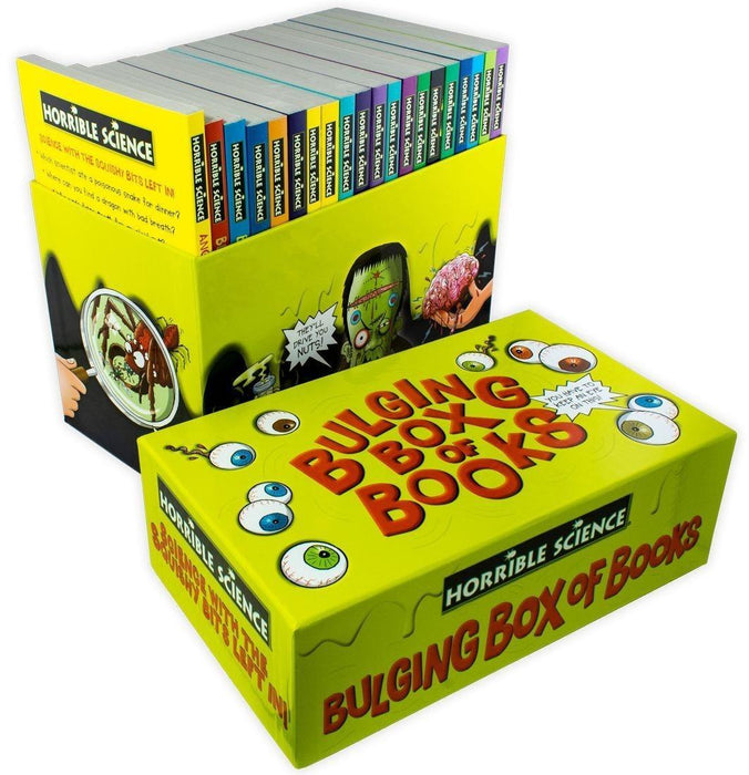 Horrible Science Bulging Box 20 Book Collection - Ages 7-9 - Paperback - Nick Arnold - Books2Door