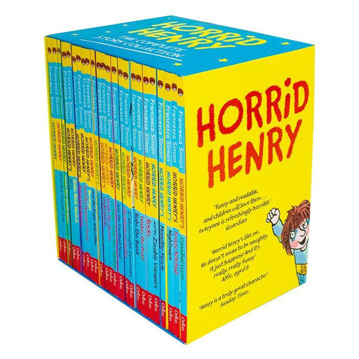 Horrid Henry The Complete Story Collection 24 Books Box Set - Ages 7-9 - Paperback - Francesca Simon 7-9 Orion