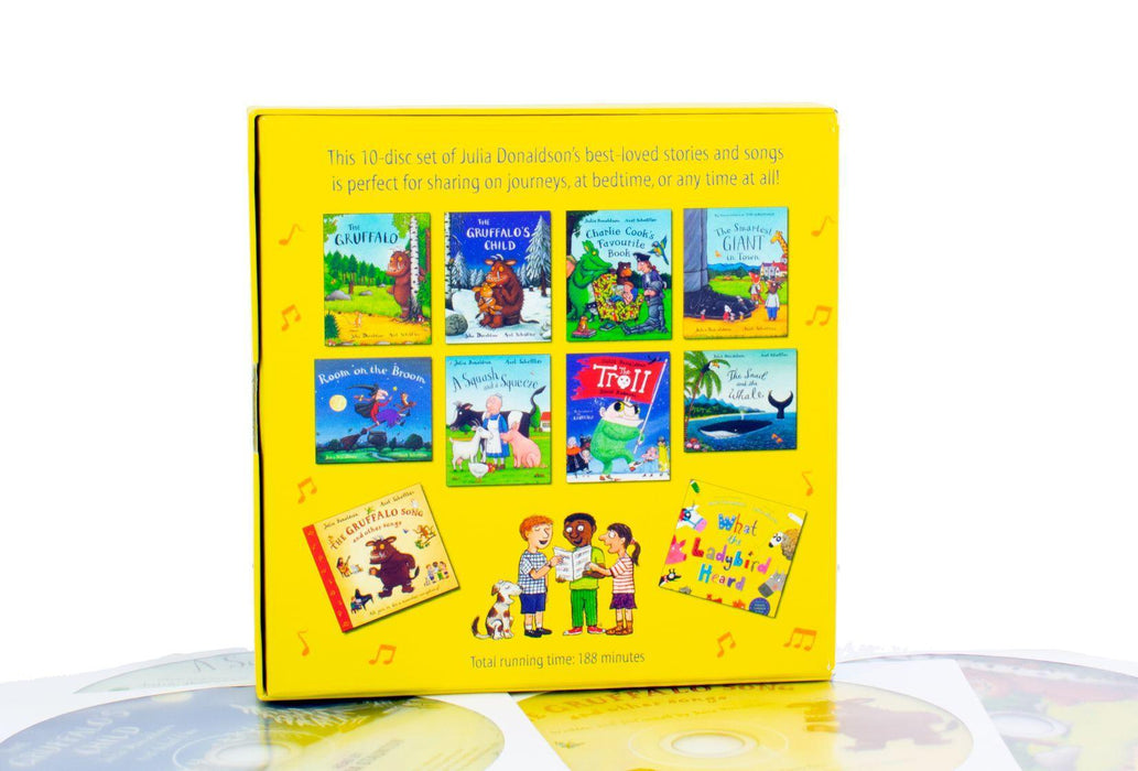Julia Donaldson Collection 10 CD Set - Ages 7-9 - Paperback - Books2Door