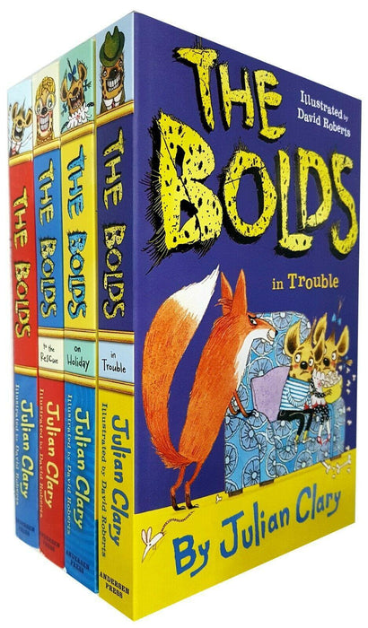 Julian Clary Collection 4 Books Set - The Bolds - Books2Door