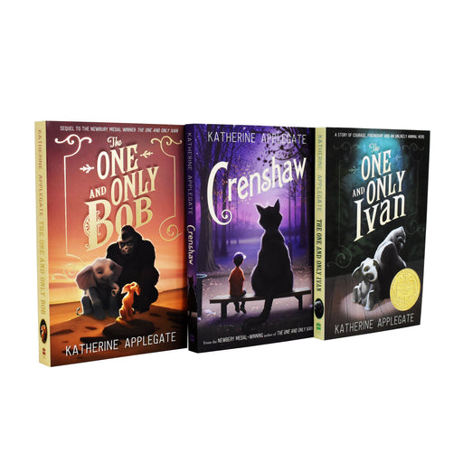 7-9 - Katherine Applegate One And Only Ivan Series 3 Books Collection - Paperback - Age 7-9