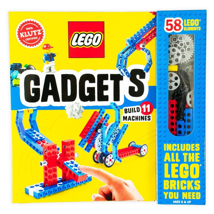 Klutz Lego Gadgets Activity Book - Ages 7-9 - Paperback - Books2Door