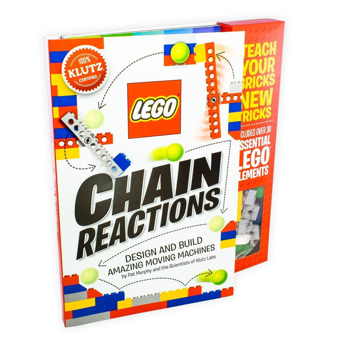 Lego Chain Reactions: Design and Build Amazing Moving Machines - Ages 7-9 - Paperback - Pat Murphy - Books2Door