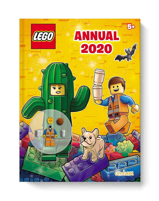 Lego Iconics Annual 2020 - Ages 7-9 - Hardback - Centum Ltd - Books2Door