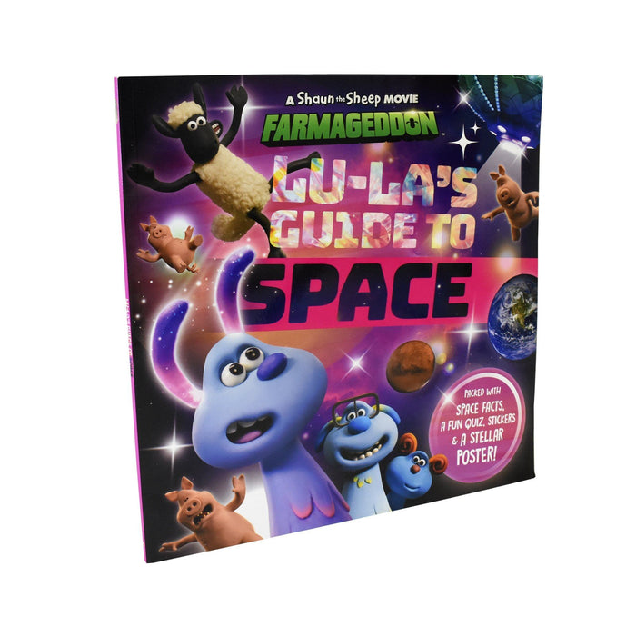 7-9 - Lu La's Guide To Space (An Official Shaun The Sheep Movie 2: Farmageddon Book) - Ages 7-9 - Paperback - Sweet Cherry Publishing