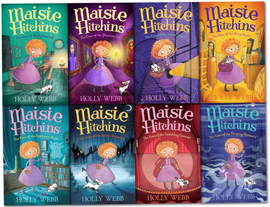 Maisie Hitchins Series 8 Books Collection - Ages 7-9 - Paperback - Holly Webb - Books2Door