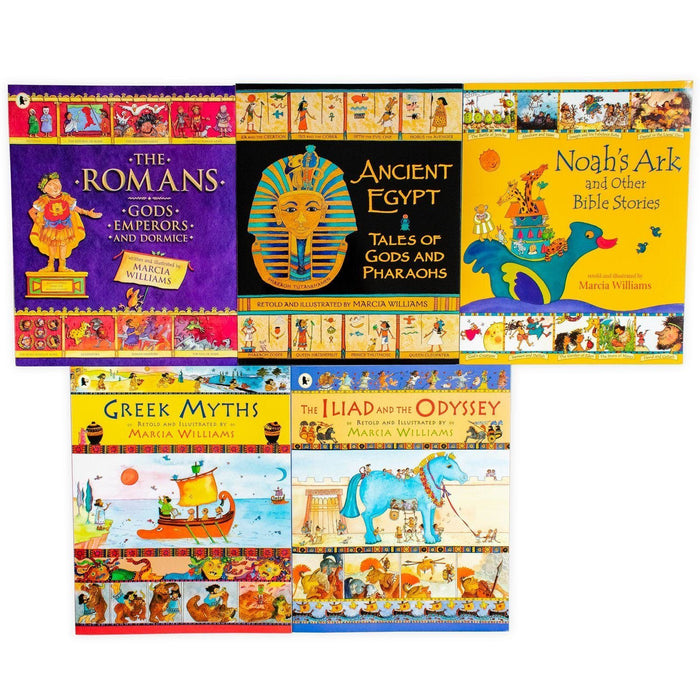 Marcia Williams Comic Strip Classics of the Ancient World 5 Book Collection - Books2Door