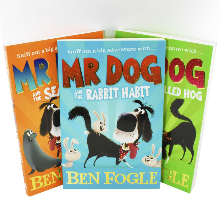 Mr Dog & The Rabbit Habit 3 Books - Children's literature - Paperback - Ben Fogle - Books2Door