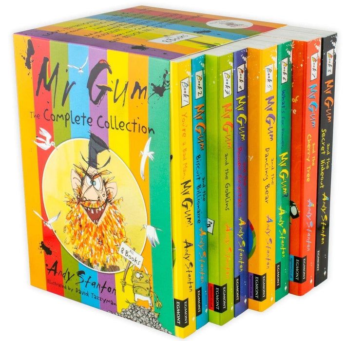Mr Gum 8 Books - Humour - Paperback - Andy Stanton - Books2Door