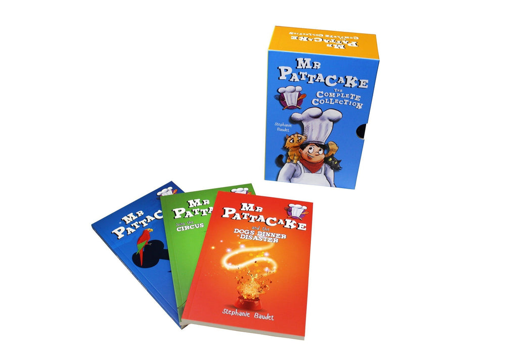 Mr. Pattacake Adventures 10 Book Collection - Children's Fiction - Paperback - Stephanie Baudet - Books2Door