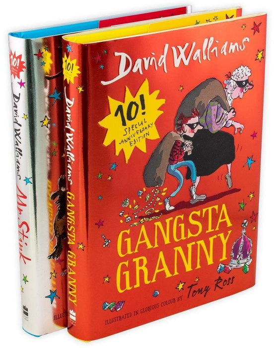 Mr Stink and Gangsta Granny Limited Edition 2 Books Collection - Ages 7-9 - Hardback - David Walliams 7-9 Harper Collins