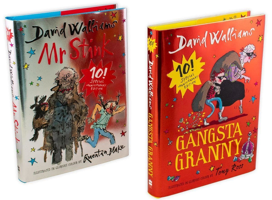 Mr Stink and Gangsta Granny Limited Edition 2 Books Collection - Ages 7-9 - Hardback - David Walliams - Books2Door