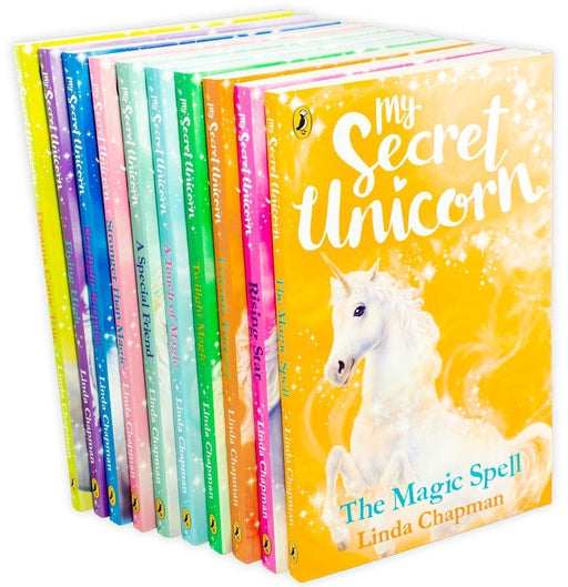 My Secret Unicorn 10 Book Collection - Ages 7-9 - Paperback - Linda Chapman - Books2Door