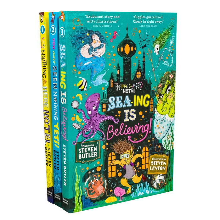 Nothing to See Here Hotel 3 Books - Ages 7-9 - Paperback - Steven Butler - Books2Door