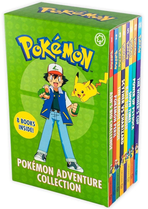 Pokemon Adventure 8 Book Collection - Ages 7-9 - Paperback - Tracey West 7-9 Orchard Books