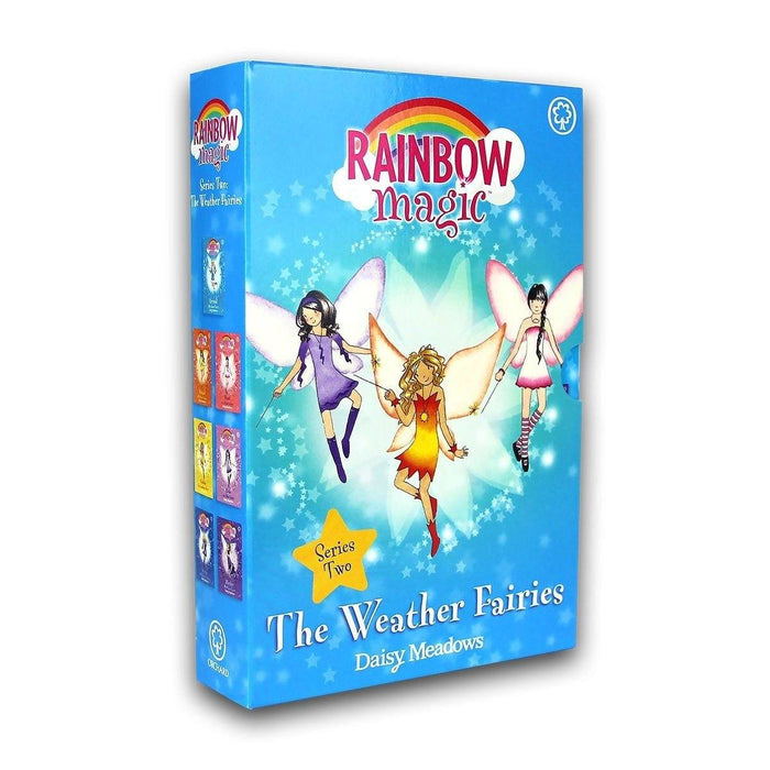 Rainbow Magic Series 2 The Weather Fairies Collection -7 Books No 8-14 - Children's Literature - Paperback - Daisy Meadows - Books2Door