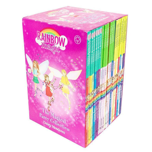 Rainbow Magic The Magical Party Collection 21 Books Set - Ages 7-9 - Paperback - Daisy Meadows - Books2Door