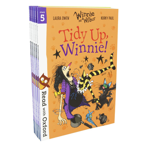 7-9 - Read With Oxford: Winnie And Wilbur 6 Books - Ages 7-9 - Set Level Stage 5