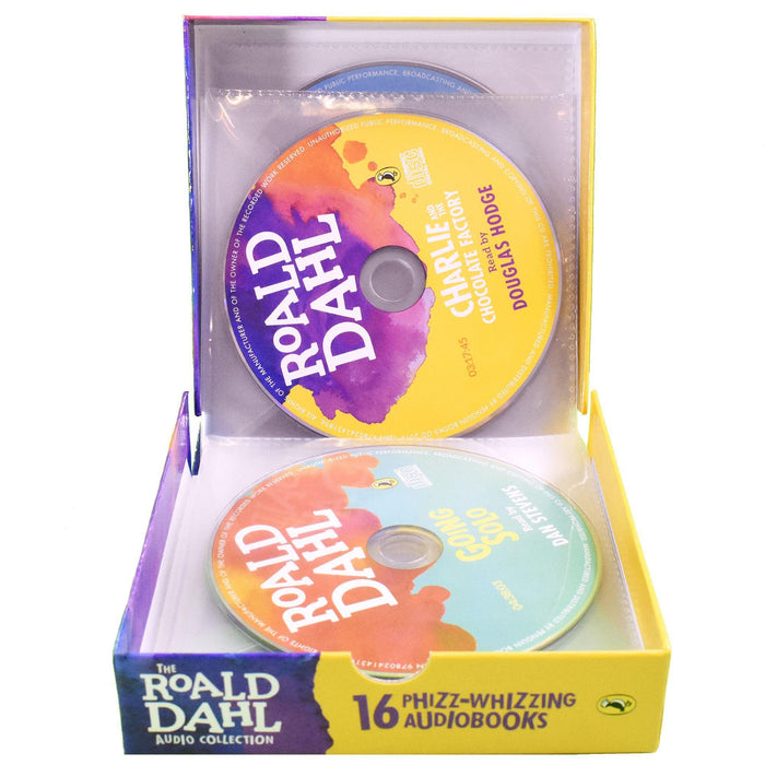 Roald Dahl 16 Phizz Whizzing MP3 Audio - CD Books Collection - Books2Door