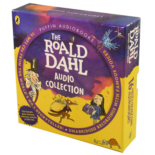 Roald Dahl 16 Phizz Whizzing MP3 CD Books Collection 7-9 Puffin