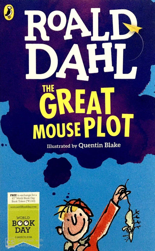 Roald Dahl The Great Mouse Plot - WBD 2016 - Paperback - Roald Dahl - Books2Door